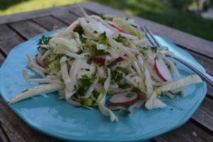 Cabbage Radish Slaw