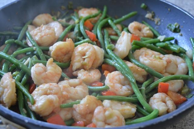 Shrimp & Beans